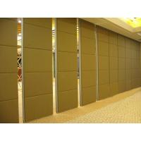 Buy cheap Sound Insulation Wooden Sliding Movable Sound Proof Partitions with Pass Doors from wholesalers