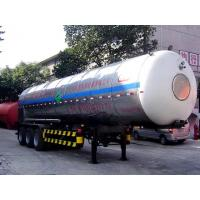 China CLW12.7 m long 3-axis 25.5 tons of carbon dioxide transport trailer KP9400GYU008 on sale