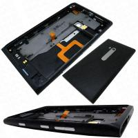 Buy cheap nokia lumia 900 replacementrear housing cover headphone jack speaker buttons black origina product