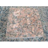 Nature Red Granite Stone Tiles / Granite Tiles For Bathroom Floor