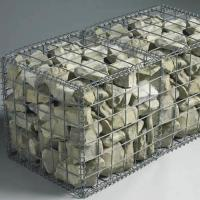 Buy cheap Foldable Welded Mesh Gabions|Galvanized Wire 2''x2'' for Architectural Uses product