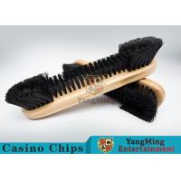 Buy cheap Casino Table Maple Wood Brush Dedicated Table Layout Cleaning Brush For Casino Gambling Poker Games product