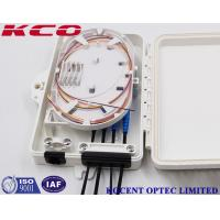 Buy cheap External Fiber Optic Terminal Box Wall ,  1x4 Splitter Fiber Optic Cable Joint Box product