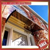 Buy cheap excellent house villa door window porch clear DIY PC polycarbonate Awning canopy awnings shelter canopies cover shield product