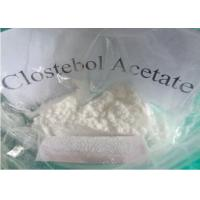 China  male Oral Anabolic Steroids Hormone , 4-Chlorotestosterone Acetate CAS No 855-19-6  for sale