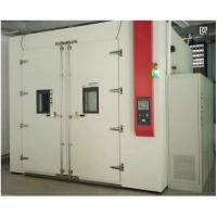 Buy cheap Heavy Duty Mechanical Walk In Environmental Test Chamber , Controlled Environment Chamber product