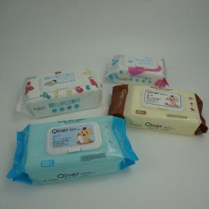 Buy cheap Customized Logo Non-Woven Baby'S Wet Wipes Package With Cover product