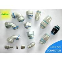 Buy cheap DELIKON liquid tight connector and fittings LIQUID TIGHT metal connector,flexible conduit product