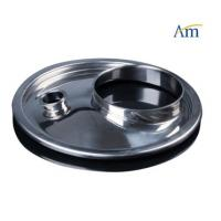 Buy cheap 500-600mm Dimension Steel Drum Cover Pharmaceutical Machinery Parts from wholesalers
