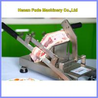 China small frozen meat slicer, Household manual meat slicer on sale