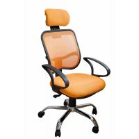 Buy cheap Orange Fabric Home Office Computer Chair Ergonomic Back Comfortable For Whole Day Work product
