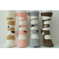 Buy cheap Warm Cashmere Knitted Ladies Cashmere Socks With Hand Link for Winter product