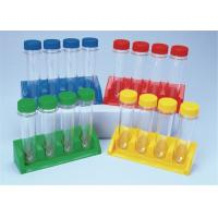 Buy cheap Medical Grade Sterile Test Tubes With Lids Multi Colors Optional product