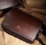 Wholesale Top Quality Mens Leather Shoulder Bag Sling bag China supplier
