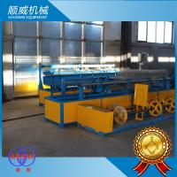 Buy cheap Double / Single Wire Automatic Chain Link Fencing Machine Knuckle Or Twist Edge from wholesalers