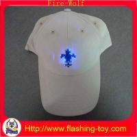 Buy cheap Customize Embroidery Logo Blinking Flashing Sport Cap, Led shoe light HL-B5119 product