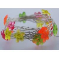 Buy cheap Mini Flower USB LED Fairy Lights White / Pink 6 M 40LEDs Indoor Decoration product