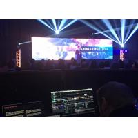 Buy cheap Multi Color Led Video Curtain High Brightness 800 Nits P4.81 For Stage from wholesalers