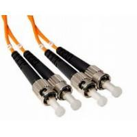 Buy cheap Duplex ST to ST 50 / 125 μm LSZH Jacket Fiber Optic Patch Cord for Access Network product