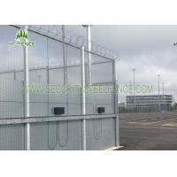 358 Clearvu Mesh Security Fencing 3.0 M Height With 2 * 75mm Flanges Easy To Install