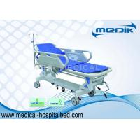Buy cheap Luxurious PP Patient Transfer Trolley , Mechanical Stretcher Cart product