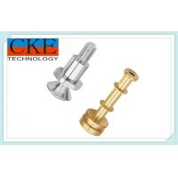 China Copper Welded Precision Turning Parts For Cars / Trucks , OEM Service on sale