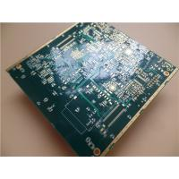 Buy cheap Impedance PCB Built On 10 Layer Copper With Via In Pad (VIP) and green soldermask product