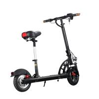 Buy cheap Single Seat Two Wheel Electric Scooter , Folding Two Wheel Standing Scooter Mini from wholesalers