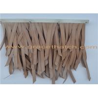 Buy cheap High quality good flexibility artificial thatch for Decorations product