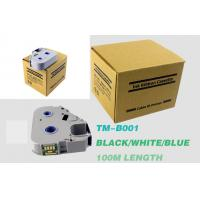Buy cheap Insulating Black Ink Cartridges Thermal Transfer Waterproof Heavy Duty 100m product