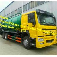 Buy cheap SINOTRUK HOWO EuroII 6x4 10 wheels Vacuum Truck 20 CBM Sewage suction Truck from wholesalers