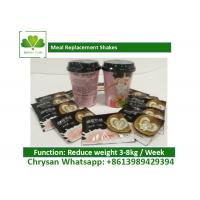 China Low Carb / Low Fat Coffee Meal Replacement Shakes For Weight Loss OEM on sale