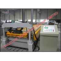 Buy cheap High Speed Roof Panel Roll Forming Machine Width 800mm / 1000mm product