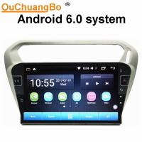 Ouchuangbo car radio audio android 6.0 for Citroen Elysee Peugeot 301 with gps
