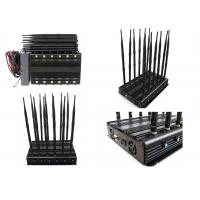 Buy cheap 12 Bands 12 Antennas Cell Phone Signal Jammer GSM 2G 3G 4G Long  Time Working product