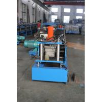Buy cheap Automatic Door Frame Roll Forming Machine 8000mm X 800mm 5 Tons 4Kw Hydraulic Cut product