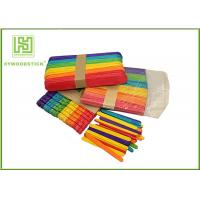 Buy cheap Multi - Function Long Wooden Craft Sticks For House Decoration Well Polished product