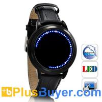 Buy cheap Abyss Lite - Japanese-inspired Touchscreen LED Watch - Blue product