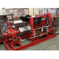 Buy cheap Split Case Electric Motor Driven Fire Pump With Techtop Motor 2000 GPM 171 PSI product
