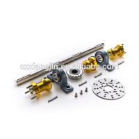 China CNC machined Aluminum Solid Bar Go Kart Rear Axle Shaft With Kayway on sale