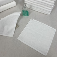 Buy cheap 60g/Pc White Cotton Face Towel product