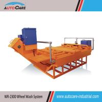 Buy cheap Automatic Roller Type Truck Wheel Washing Systems with foundation pit product