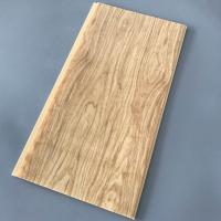 Buy cheap Yellow Wood Pvc Panel For Ceiling Decorative 25cm Width OEM / ODM Available from wholesalers