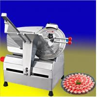 China 10 inch full automatic Frozen Meat Slicer Meat Cutting Machine For Commercial (M250A) on sale