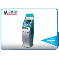 Buy cheap 19 inch information inquiry self service kiosk with card vending function product