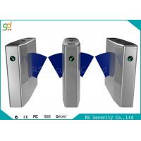 Buy cheap Bi-Directional Wide Lane Flap Barrier Gate With IR Sensor And Anti-pinic product