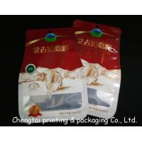 China Semi Aluminum Recyclable Shaped Pouches Food Packaging Bags With Tear Notch on sale