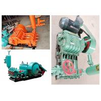China BW320 Portable Horizontal Piston Pump , Mud Pump For Water Well Drilling 45KW Power on sale