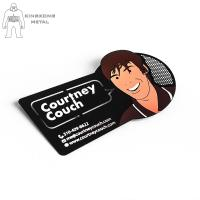 Buy cheap Artigifts Stainless Steel Drink Coasters Matte Or Glossy  Finished Customer Design product