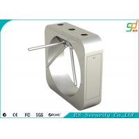 Buy cheap Mirror Finish Half Height Tripod Turnstile Gate , Turnstile Barrier Gate product